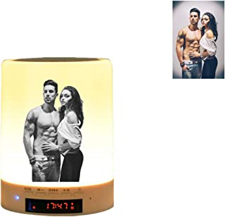Personalized Photo Night Light 3D lamp Custom Bluetooth Music Player Play Music or Radio USB Charge Personalized