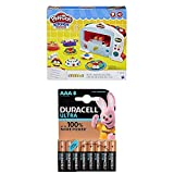 Play-Doh Lot Pate A Modeler - Le Four Magique + Duracell Ultra Power Piles Alcalines Type AAA, 8 Piles