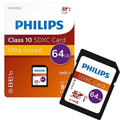 Philips FM64SD55B/10 64GB SDXC Speicherkarte