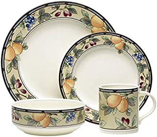Mikasa Garden Harvest 16 Piece Dinnerware Set, Service for 4