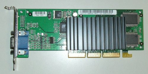 DELL - Dell TnT2 16MB VGA-AGP Short Bracket Video Card 26RYH Low...
