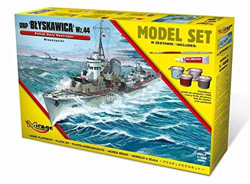 Mirage Hobby 840091 – Modèle Kit orpblyskawica WZ. 44polish Destroyer WWII