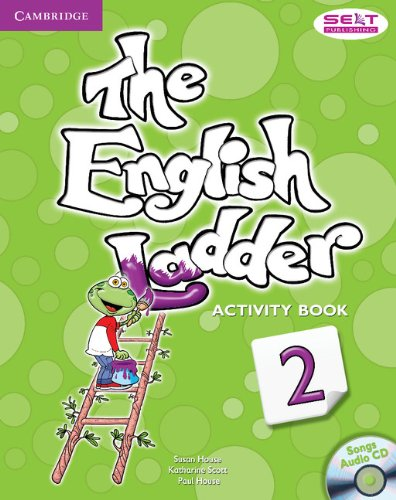 House, S: English Ladder Level 2 Activity Book with Songs Au