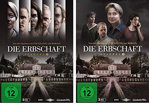 Die Erbschaft - Staffel 2+3 im Set - Deutsche Originalware [6 DVDs]