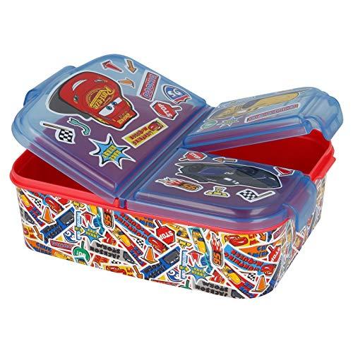 Cars Boîte à sandwich pour enfant avec 2 masques Anna Elsa Frozen PJ Spiderman Avengers Mickey Paw Patrol Sans BPA