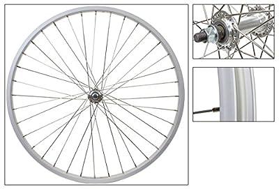 Wheel Master Front 26 x 1.75/2.125, Silver, Alloy, B/O, 36H, SS 14g Spokes