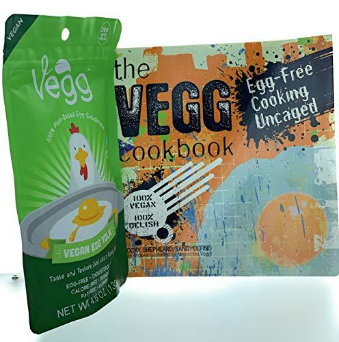THE VEGG - Vegan Egg Yolk (127G) & Free THE VEGG Cookbook