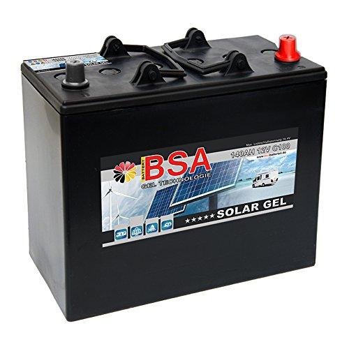 Preisvergleich Produktbild Gel Batterie 140Ah 12V Blei Gel Solarbatterie Wohnmobil Boot Antrieb Versorgungsbatterie