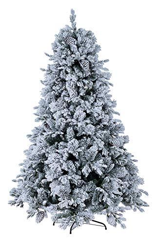 Bizzotto Albero di Natale Arves Innevato H240-2513 Rami cod.0931239