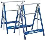 Draper 54053telescópica sierra caballos o constructores caballetes par, azul