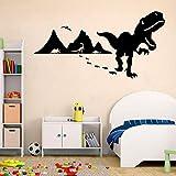 Huella de dinosaurio Dinosaurio especial vinilo adhesivo para pared coche Logo patrón foto