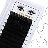 20-25mm Long Eyelashes Individual Lash Extensions D curl Thickness 0.07 Eyelash Extensions Supplies Classic Long Individual Lashes Mixed Tray by GEMERRY (0.07-D curl-mix 20-25mm) | Not Easy Fan Lashes