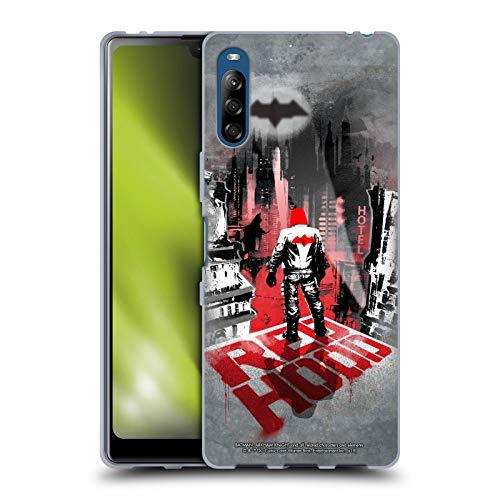 Head Case Designs Oficial Batman: Arkham Knight Capucha Roja Gráficos Carcasa de Gel de Silicona Compatible con Sony Xperia L4