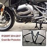 RONGLINGXING Pieces de Sport Motorise R1200RT moto avant moteur Garde route for la protection Accident Bar BMW...