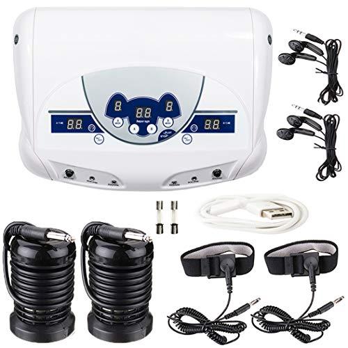 Latest Professional Dual Ionic Ion Detox Aqua Foot Spa Cleanse Machine with Mp3 Music Player M#01 USA