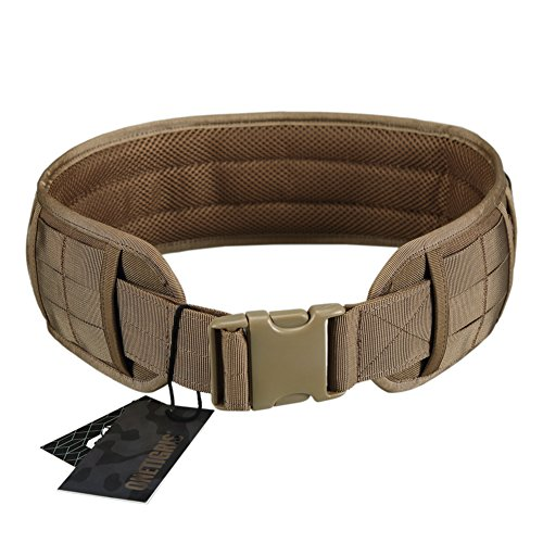 OneTigris Padded Patrol Belt Dual-use MOLLE Belt with...