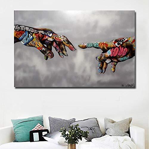 SLQUIET sin Marco nórdico Colorido Flor Imagen Animal Mariposa pájaro Pintura Mural Lienzo impresión Acuarela león Marino Cartel decoración A4 21x30cm