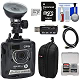 HP f310 1080p HD GPS G-Force Car Dashboard Video Recorder Camera with 64GB