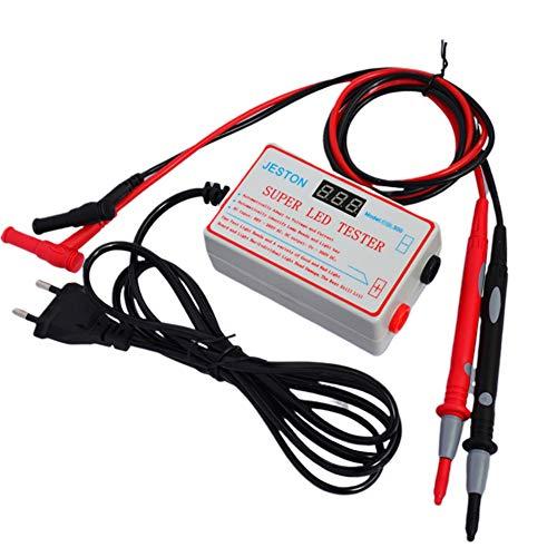 LED Licht und TV Hintergrundbeleuchtung Tester, 0–300 V Adaptive Spannung LED Streifen Lampe Perlen Reparatur Testwerkzeug mit vergoldetem Pin und Netzkabel, geeignet für alle LED Licht Reparaturen