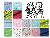 Alltags-Maske; Behelfs-Mundschutz – Kind; Teens – Design Muster Motive 100% Baumwolle Waschbar Handgenäht