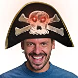 Light-up LED Pirate Hat