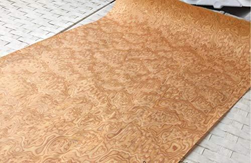 NO LOGO 1Pieces L: 2.5meters Breite: 60 cm Stärke: 0,25 mm Möbel Dekoration Yellow Cat Technologie Birdseye Holzfurnier