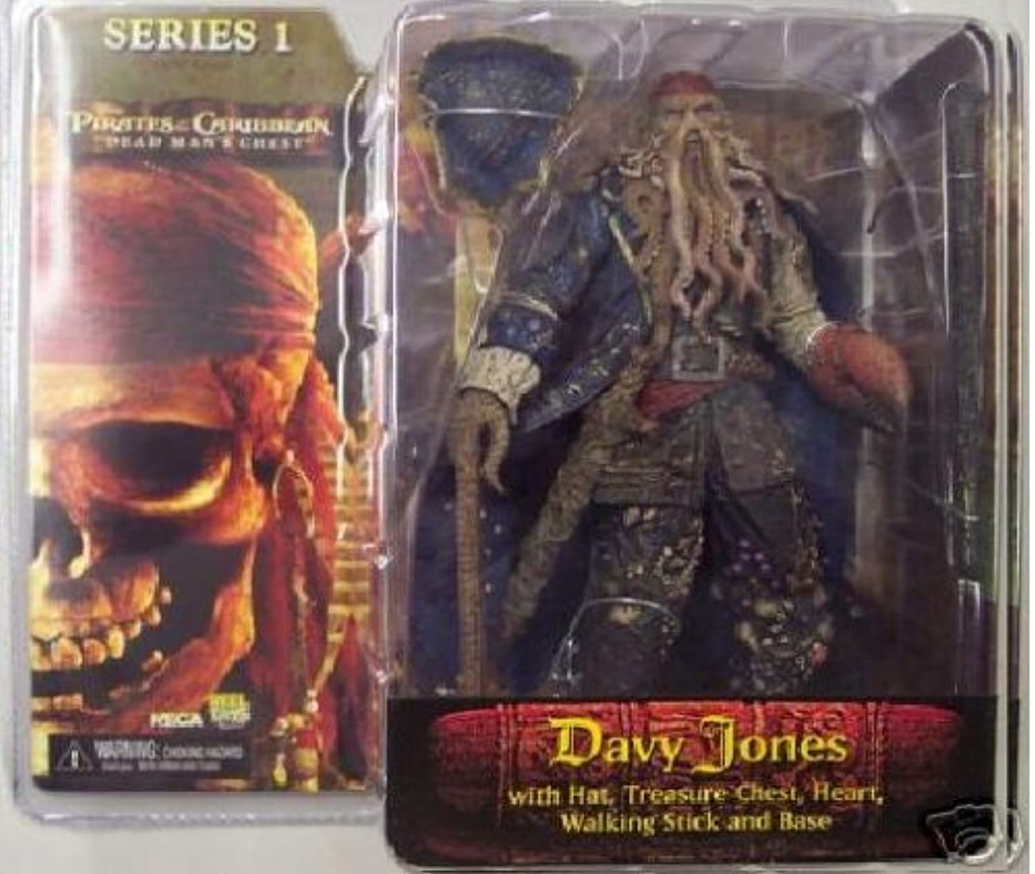 Davy Jones - Fluch der Karibik Action-Figur