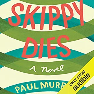 Skippy Dies audiobook cover art