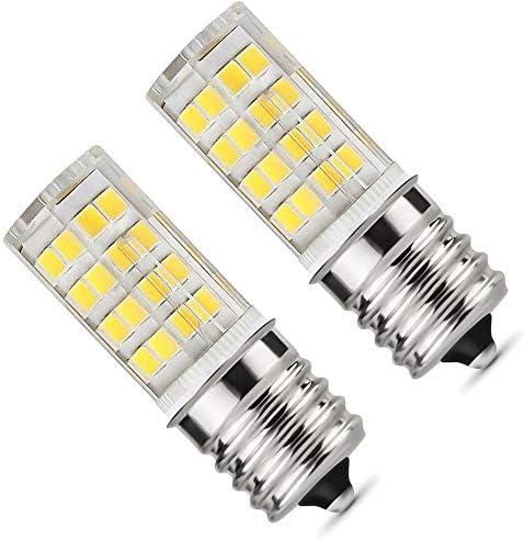 E17 LED Bulb Microwave Oven Light 5 Watt Daylight White 6000K dimmable 52x2835SMD AC110 130V product image