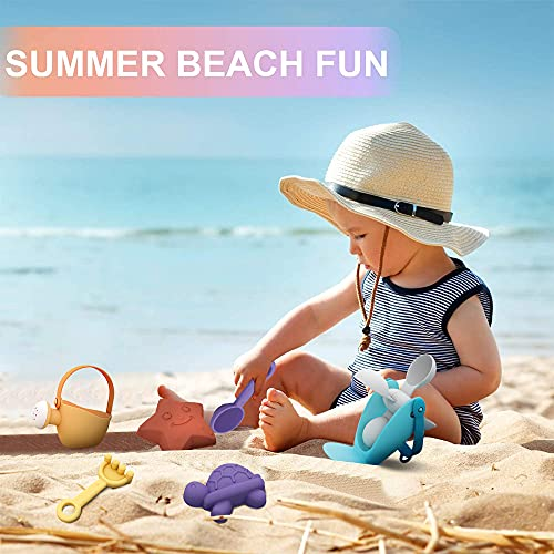 Kids Sand and Water Table - Beach Play Activity Table Sandbox with Cover for Toddlers