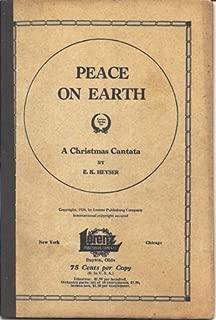 peace on earth christmas cantata