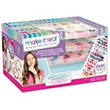 Make It Real - Ultimate Bead Studio. DIY Tween Girls Beaded Jewelry Making Kit. Arts and Crafts Kit Guides...