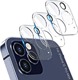 HTYA [3 Pack] Camera Lens Protector for iPhone 12/12 Mini /12 PRO Max,[9H Hardness][Bubble Free] Ultra Clear Thin Tempered Glass Screen Scratch-Protection Full Cover for iphone12 PRO Max