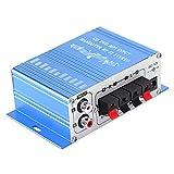 Annadue 4 Canales Mini Amplificador estéreo para automóvil