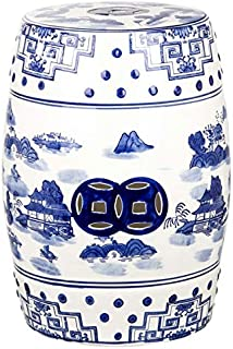 Best blue and white stool Reviews