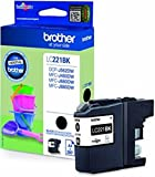 Brother Cartuccia d' inchiostro originale LC221 LC 221 LC 221 per Brother MFC J 1140 W – Black – Potenza: ca. 260 Pagine (01) 1x cartuccia - nero