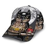 Gorra de béisbol unisex Gorra de búho murciélago Gorras de luna llena Sombrero de camionero Verano Sol Deportes Sombreros Snapback al aire libre