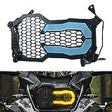Motocicletta Fari Anteriori Griglia Copertura Protezione per B-M-W R 1200 GS R1200GS Adventure 2014-2020 R 1250 GS R1250GS Adventure 2018-2020 Blu