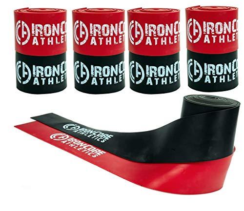 Iron Core Athletics Floss Bands für Muskelkompression, Großpackung, 5 Sets von 2 Stück, für Beweglichkeit und Erholung