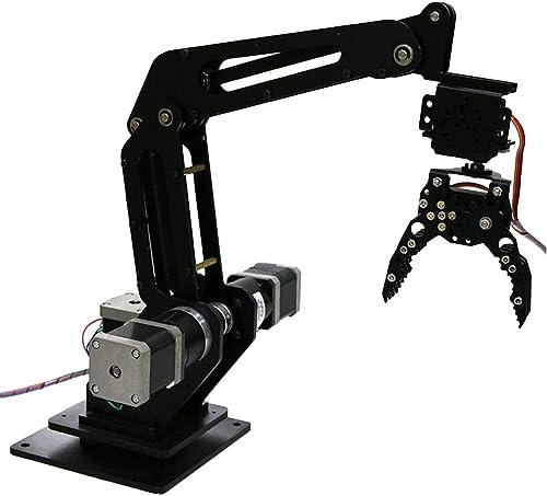 F Fityle DIY 3 Dof Mechanik Griff Tank Roboterarm Für Roboterarms; Gastraum und Schüler Lernen Kits