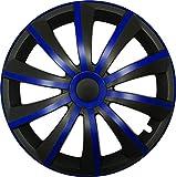 CM DESIGN Gral Azul/Negro–14Pulgadas, Apta para Casi Todas Las Rover, por Ejemplo para 400MK 2
