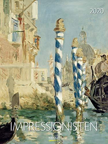 Impressionisten 2020: Großer Kunstkalender. Hochwertiger Wandkalender mit Werken aus dem Impressionismus. Kunst Gallery Format: 48 x 64 cm, Foliendeckblatt