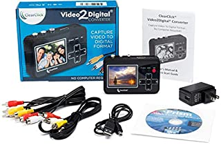 ClearClick Video to Digital Converter - Capture Video from VCR's, VHS Tapes, Hi8, Camcorder, DVD, Gaming Systems للبيع