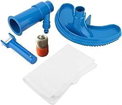 SouiWuzi Piscina Aspirador portátil Limpiador de la Piscina Piscina Jet Vacuum Cleaner submarina con la Bolsa de la Hoja, Piscina Accesorios para Herramientas