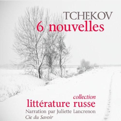 6 nouvelles audiobook cover art