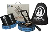 ZenMonkey Slackline Kit with Tree Protectors, Cloth Carry Bag and Instructions, 60 Foot - Easy Setup...