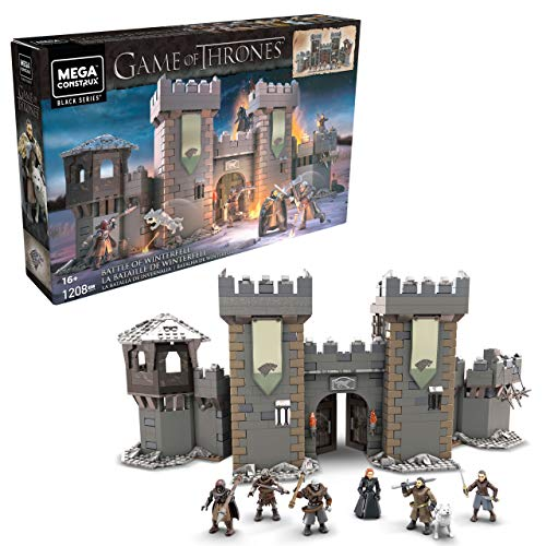 Mega Construx Game of Thrones Battle of Winterfell Building Set