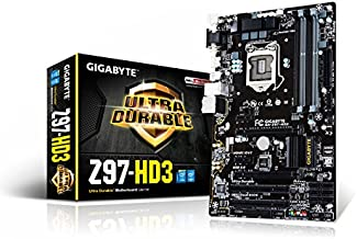 Gigabyte GA-Z97-HD3 LGA 1150 Z97 HDMI 2-Way CrossFire ATX Motherboard