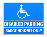 Disabled Parking Only10 Safety Premises Business 金属板ブリキ看板警告サイン注意サイン表示パネル情報サイン金属安全サイン