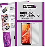 dipos I 2X Schutzfolie klar kompatibel mit HOMTOM S7 Folie Bildschirmschutzfolie